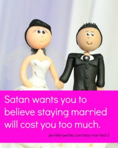 God saves marriages