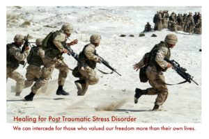 Pray for Soldiers with PTSD