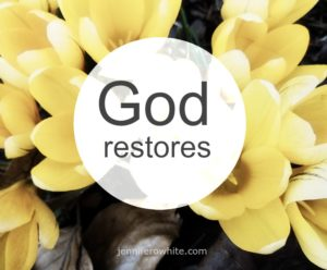 Restoration is God's Specialty