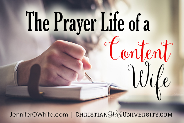 image: praying to be a content wife
