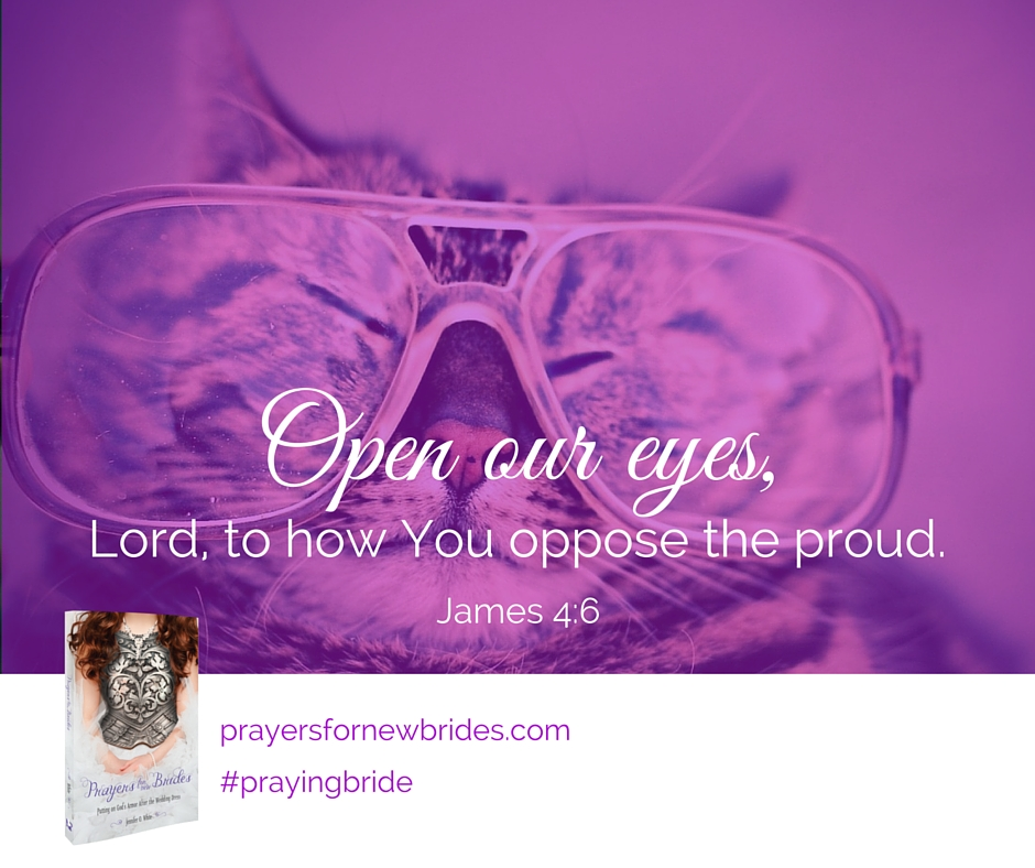 God opposes the proud