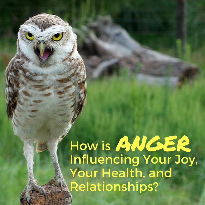 know what anger is taking from your life
